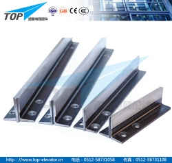 Machined guide rail BE